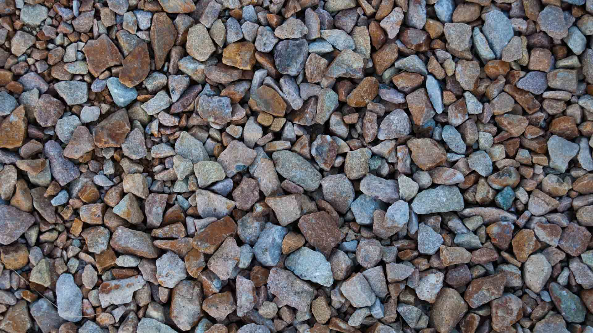 Landscape rocks close up.